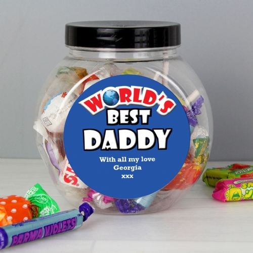 Blue Worlds Best Sweet Jar